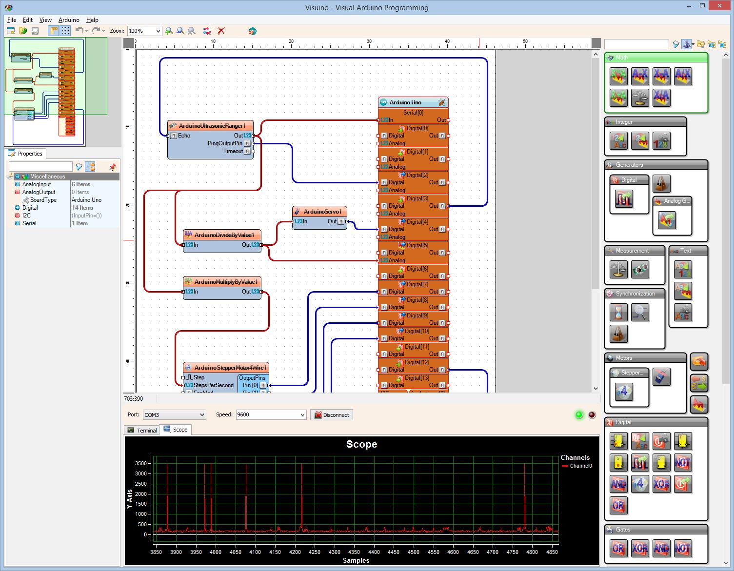 New visual arduino programming tool